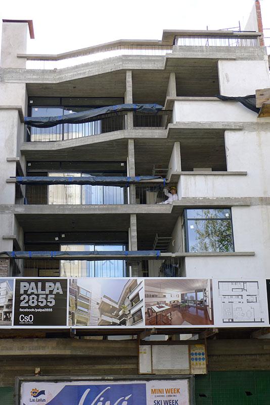 Conjunto de viviendas y grandes obras